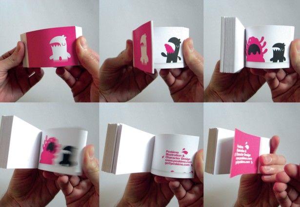 Exemplo de Flip Book