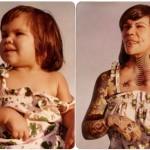 20 negra web 150x150 Recriando fotos da infância 2