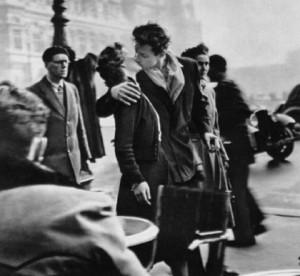 beijo famoso frança