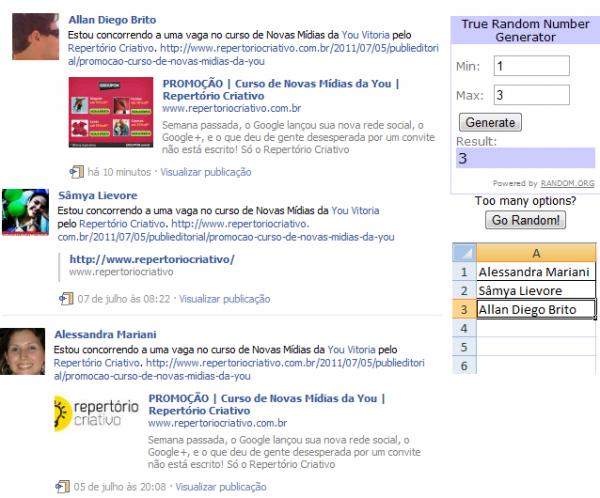 promoção novas mídias facebook