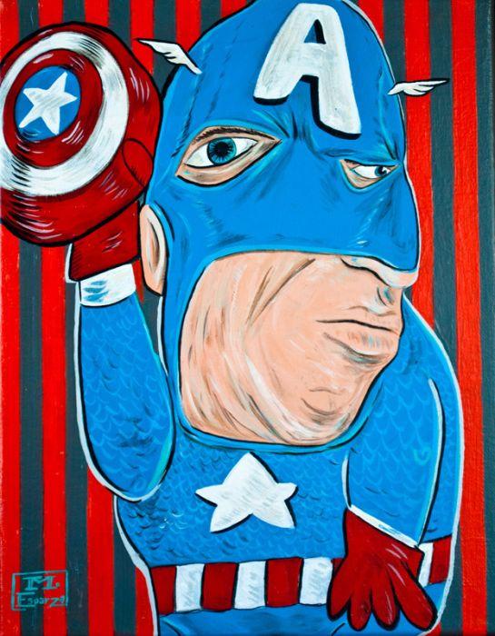 Top SQI-64] Super heróis inspirados em obras de Pablo Picasso  YH59