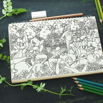 Sketch book by Shutterstock