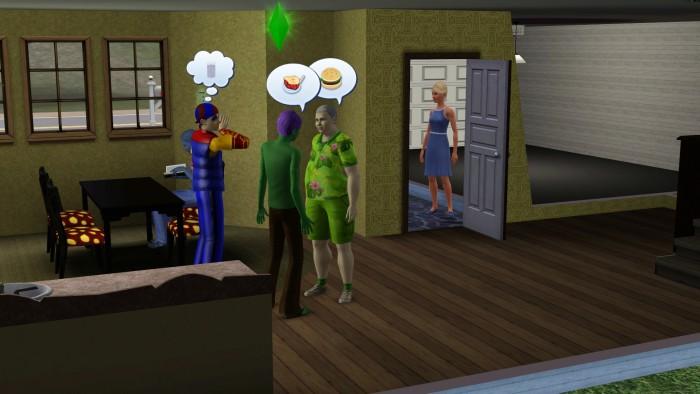 The Sims conversando
